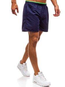 Tmavomodré pánske kúpacie šortky BOLF Y768